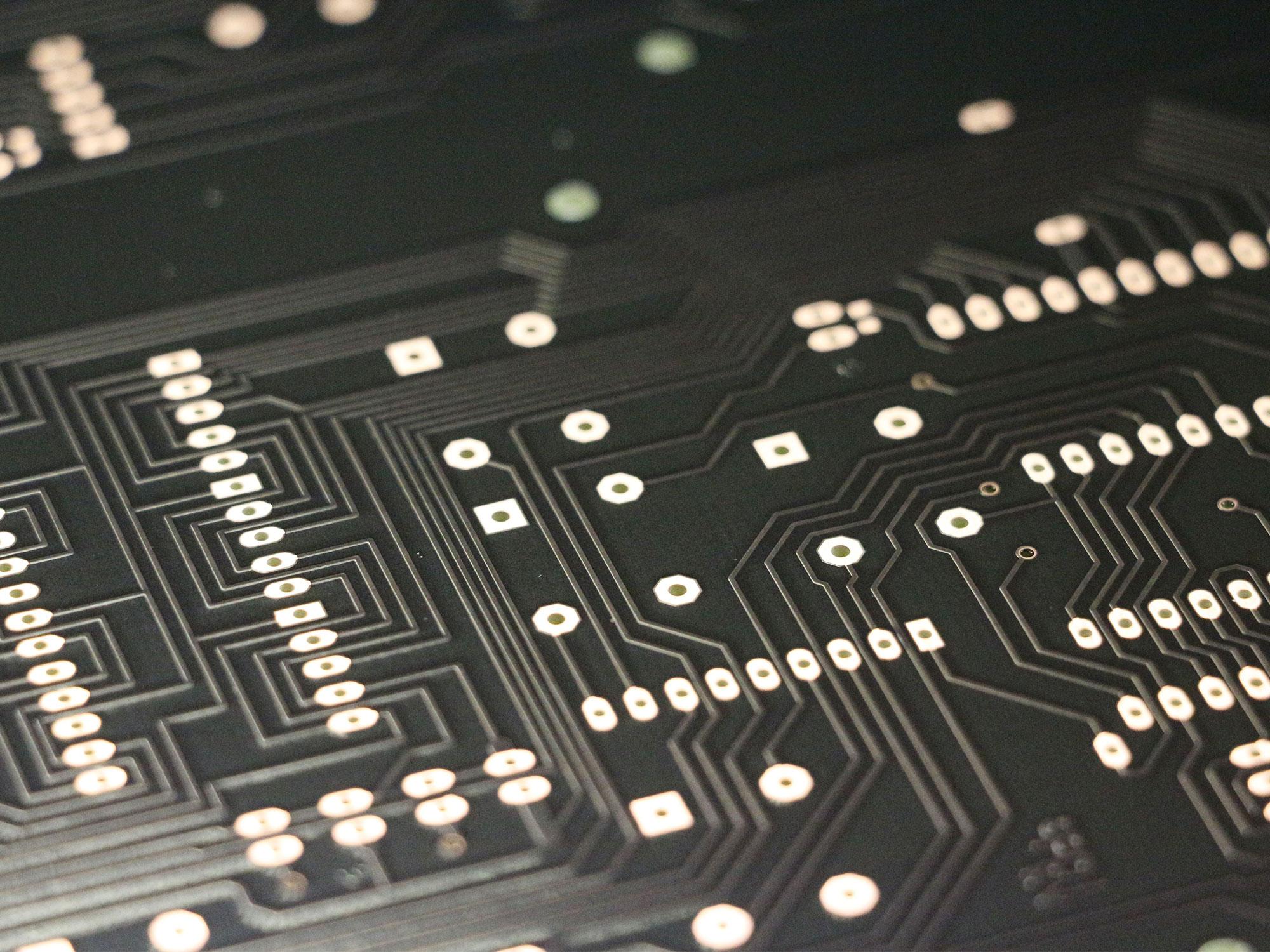 Black solder resist