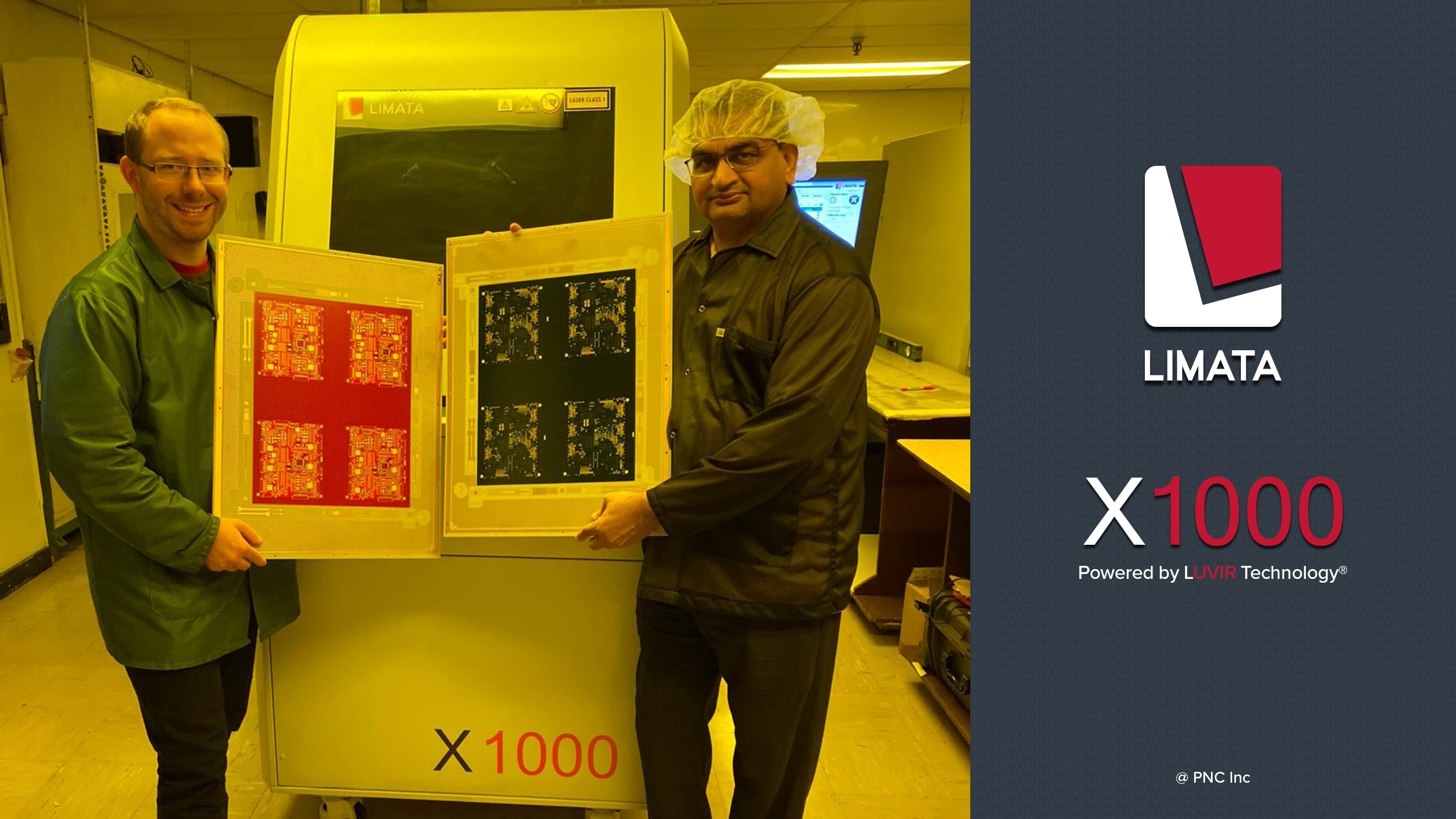 LIMATA X1000 Powered by LUVIr Technology at PNC Inc